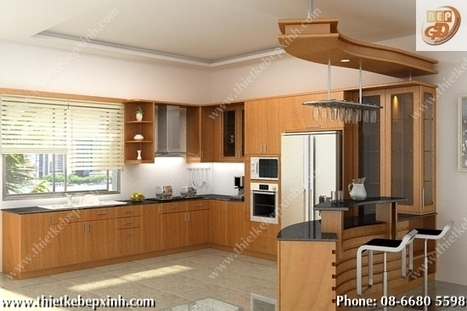 Thiết Kế Nhà Bếp - Phụ Kiện Nhà Bếp - Tủ Bếp | THIẾT KẾ NỘI THẤT - THIẾT KẾ NHÀ BẾP - THIẾT TỦ BẾP HIỆN ĐẠI - THIẾT KẾ TỦ BẾP GỖ | Scoop.it