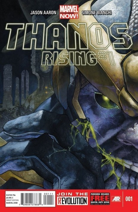 Jason Aaron & Simone Bianchi Expand the Mad Titan's Origin in 'Thanos Rising' | Comic Books | Scoop.it