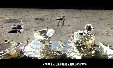 Yutu Moon Rover Starts 3rd Night Time Hibernation But Technical Problems Persist | Planets, Stars, rockets and Space | Scoop.it