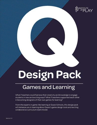 Q Games & Learning Design Pack   Institute of Play   educacion-y-ntic   Scoop.it