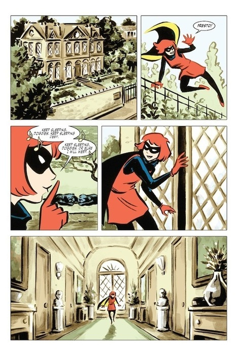 Bandette, Volume 1: Presto! by Paul Tobin and Colleen Coover - Paste Magazine | Science Books, Reviews, and News | Scoop.it