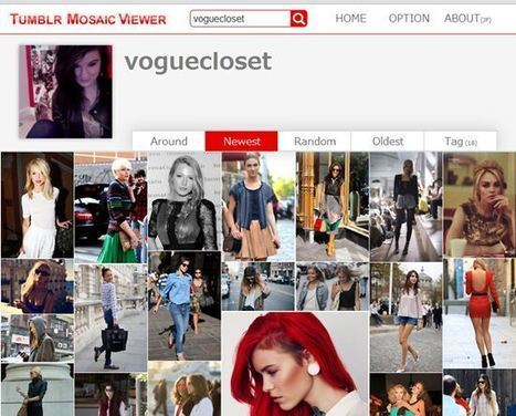 Comment visualiser les photos d'un blogue tumblr: 10 solutions | Time to Learn | Scoop.it