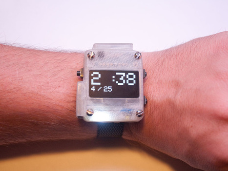 3D-Printed Smart Watch Wins Our Arduino Challenge | Raspberry Pi | Scoop.it