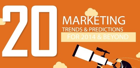 Les 20 tendances marketing de 2014 | Du social, des médias et du divertissement | Scoop.it