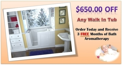 Walk In Bathtubs For Senior, Elderly or Handicap | Walk In Tubs For Seniors and The Elderly | Scoop.it