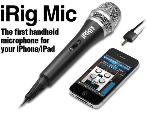 Recording and Producing Music with IK Multimedia and the iPhone iPad | P5Audio Music Production Blog | Electronics Changing The Industry | Scoop.it