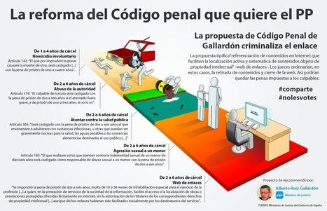 La propuesta de código penal que quiere el PP | Sociedad 4.0 | Scoop.it
