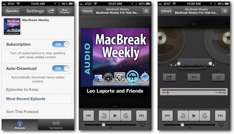 Podcasting 101: The best of the rest of iOS podcasting apps | iGeneration - 21st Century Education | Scoop.it