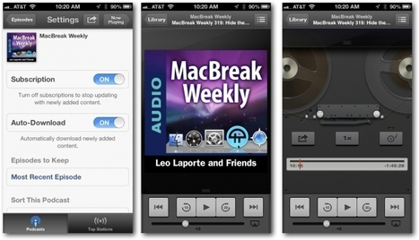 Podcasting 101: The best of the rest of iOS podcasting apps | Student Engagement and BYOT | Scoop.it