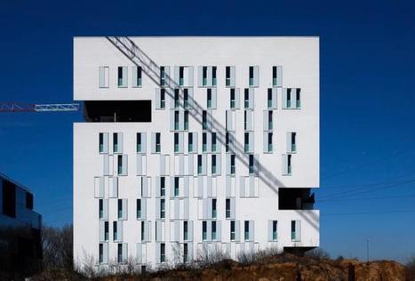 Torre residencial por Estudio ABDArchitetti. | Arquitectura: Plurifamiliars | Scoop.it