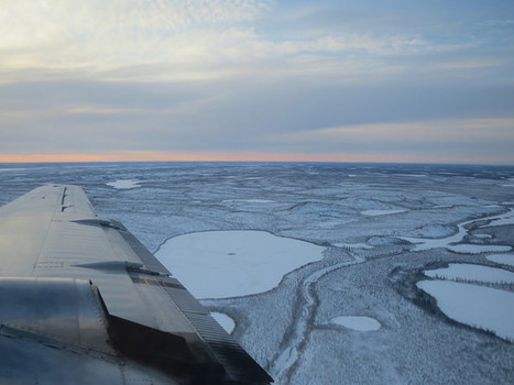 Northwest Territories landscape very close to Inuvik | NWT News | Scoop.it