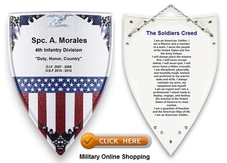 Army Plaques - Army Shields - Custom Army Plaques | Military Wives | Scoop.it