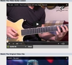 5 sites pour apprendre à jouer d'un instrument de musique | Webzine du collège Charles Doche | Scoop.it