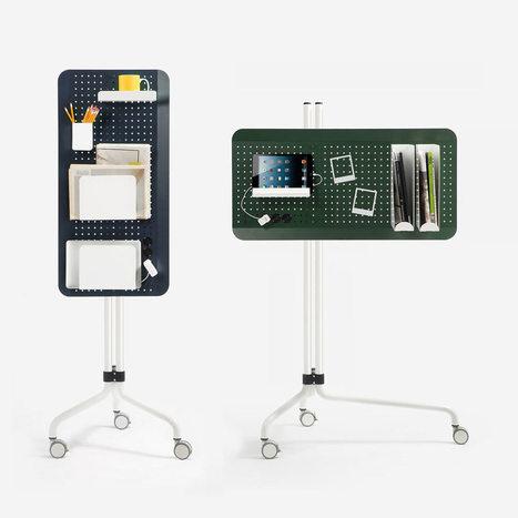 Islands Multifunctional Office Element by Jordi Blasi - Design Milk | bureau : espace innovant | Scoop.it