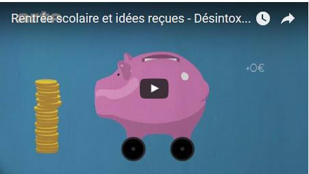 Rentrée scolaire et idées reçues : désintox ! | Remue-méninges FLE | Scoop.it