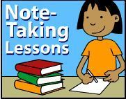 Take Note: Five Lessons for Note Taking Fun | Note Taking Lesson Plans | Note Taking for Grades K-5 | Scoop.it