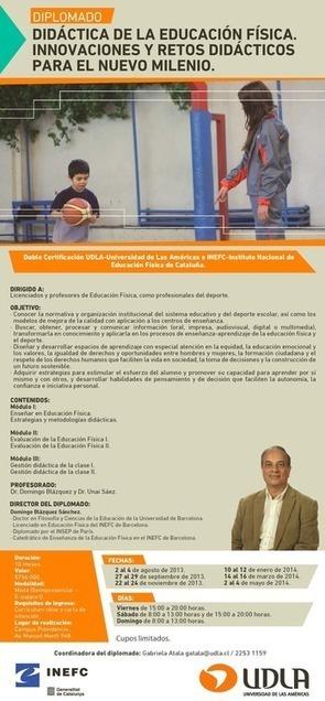 DIPLOMADO en DIDÁCTICA DE LA EDUCACIÓN FÍSICA | pef | Scoop.it