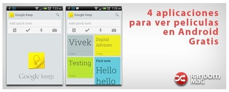 Keep - Las mejores aplicaciones Android. | Random Mag | Random Magazine | Scoop.it