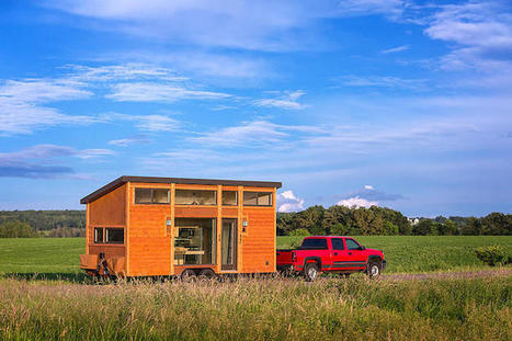 Tiny Portable Cabin Offers Luxury Accommodations While You Live a Nomadic Lifestyle | Le It e Amo ✪ | Scoop.it