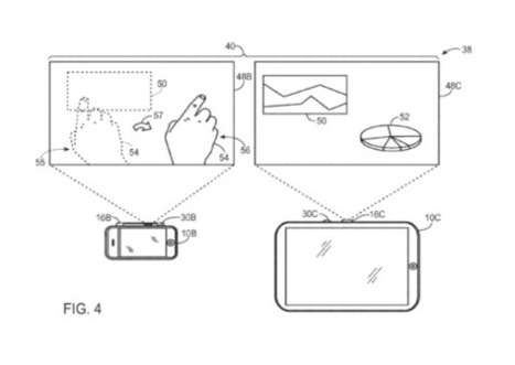 Apple working on projection technology for iPhone and iPad, with gesture control | iPads  in the Classroom | Scoop.it