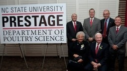 $10 million gift names Poultry Science Department for Prestage family | CALS News Center | News from the College of Agriculture & Life Sciences, NCSU | Research from the NC Agricultural Research Service | Scoop.it