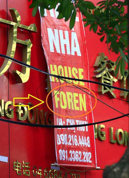 Chết cười những biển hiệu dịch 'thô' khó đỡ | Tin tức | Trung tâm dịch thuật Việt Nam, dịch thuật chuyên nghiệp và uy tín | Dịch vụ | Scoop.it