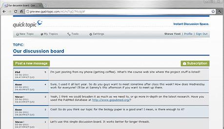 QuickTopic: free message board hosting (bulletin boards) | Career Development, Personal Branding & Job Hunting | Scoop.it