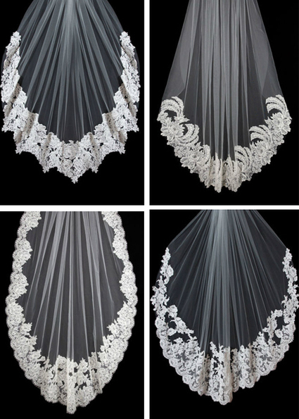 A Superb Wedding Veil Selection - Wedding Obsessions | The Knot | Design Technology | Scoop.it