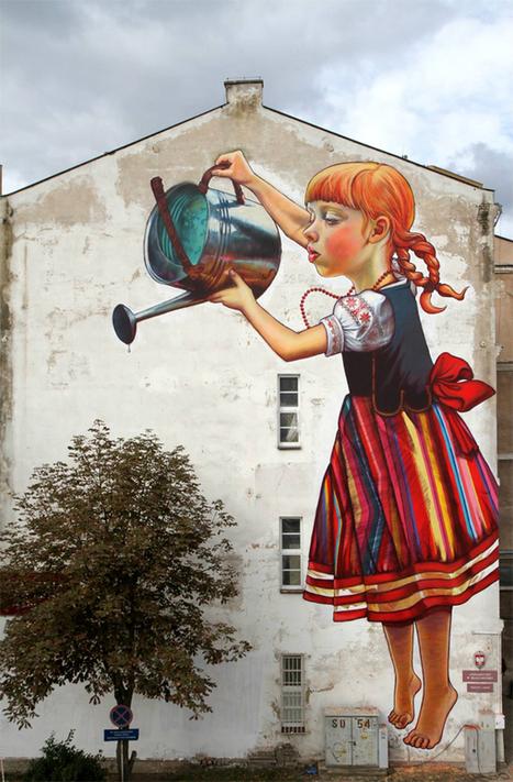 Graffiti : 24 fresques incroyables à ne pas manquer » Ma Revue Web | Design | Scoop.it
