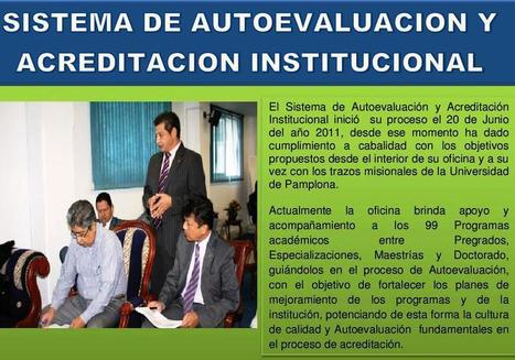 BOLETIN INFORMATIVO SAAI 2012 - UNIVERSIDAD DE PAMPLONA | BLOGOSFERA DE EDUCACIÓN SUPERIOR Y POSTGRADOS | Scoop.it
