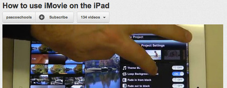 Tutorial: How to use iMovie on the iPad | jeadigitalmedia.org | Edtech PK-12 | Scoop.it