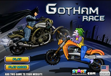 Gotham Race | online games | Scoop.it