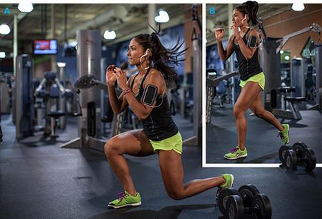 Perfect Legs: Karina Baymiller's High-Rep Plyometric Leg Workout   Fitness   Scoop.it