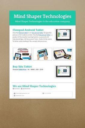 Mind Shaper Technologies | Mind Shaper Technologies | Scoop.it
