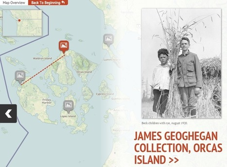 The Washington State Library illuminates rural digital collections with visual mapping | Library Corner | Scoop.it