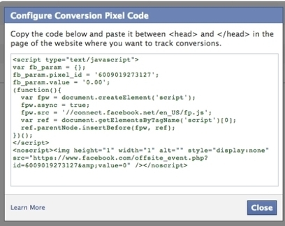How to Track Your Facebook Ad Conversions | Social Media Examiner | Online Resources | Scoop.it