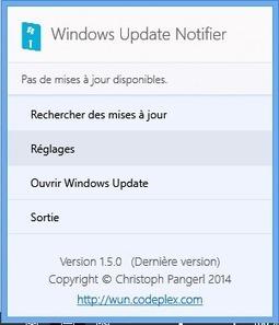 Windows Update Notifier : Afficher un pop-up lorsque une mise à jour est dispo sur W8/10, par Didpoy. | Freewares | Scoop.it