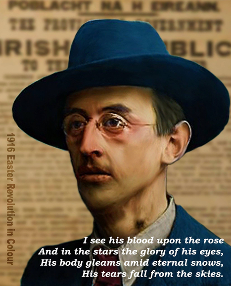 1887 – Joseph Mary Plunkett, Irish patriot and poet, is born in Dublin. | The Irish Literary Times | Scoop.it