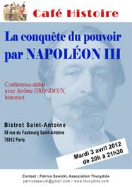Les conquêtes de l'opinion et du pouvoir par Louis-Napoléon Bonaparte - Napoléon III | Cafés Histoire | Scoop.it