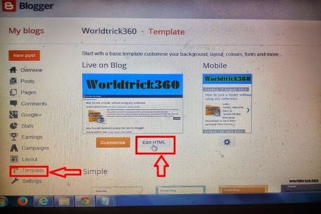 How to add email subscription widget below every post in blogger | Worldwidenetworkings and worldtrick360 | Scoop.it