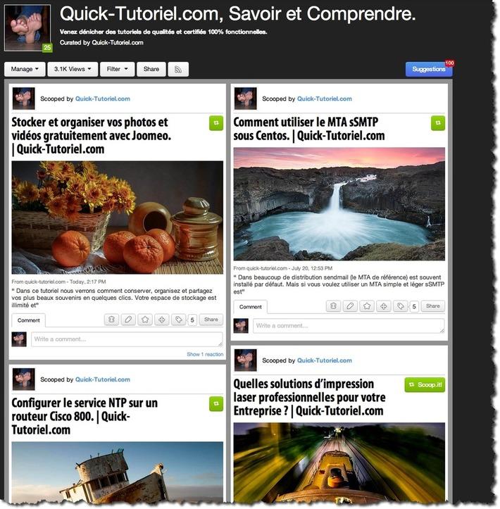 Comment intégrer le bouton de partage Scoop.it sur votre blog. | TIC et TICE mais... en français | Scoop.it