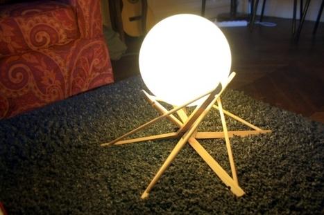 [Coup de ♥] Lampe de salon Instructions de bricolage | Best of coin des bricoleurs | Scoop.it