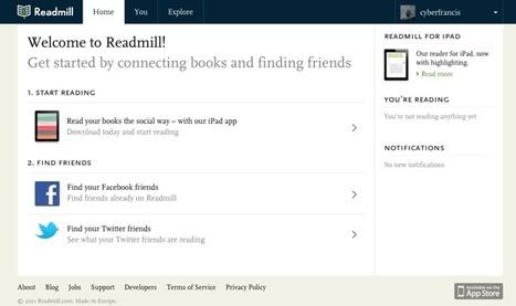 Readmill – haciendo de la lectura de ebooks más social | Aplicaciones y Herramientas . Software de Diseño | Scoop.it