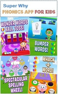 App Went Free: A Fun Phonics Workbook for Short and Long Vowels | iPad apps for elementary school | Scoop.it