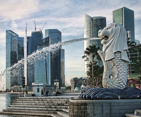 Merlion Singapore - The story of Singapore Iconic Attraction | Singapore Attractions | Scoop.it