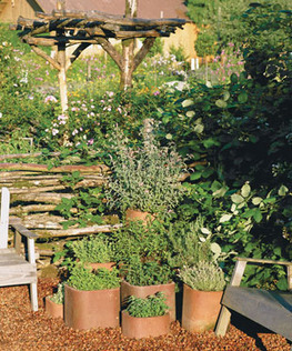 Chimney-flue liners as planters | Upcycled Garden Style | Scoop.it