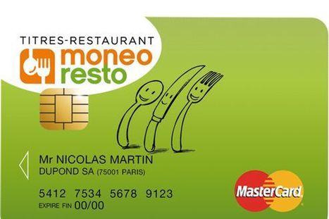 Les titres restaurant bientôt sur une carte à puce   Caisses enregistreuses   Scoop.it