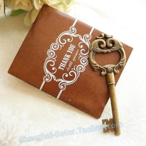 歐式複古浪漫婚禮金鑰匙開瓶器HH030新年狂歡結婚周年派對禮物 | Wedding Gifts | Scoop.it