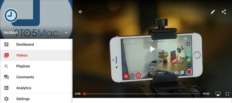 YouTube Creator Studio updated with the ability to watch videos directly in app | learning by using iPads | Scoop.it