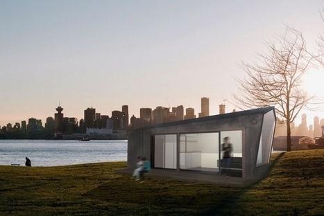 Deux architectes conçoivent la maison écologique du futur ! | Dans l'actu | Doc' ESTP | Scoop.it